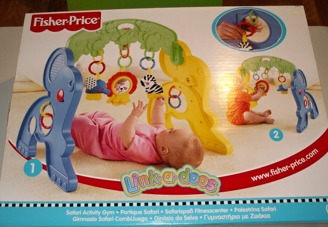 FISHER PRICE - BABY HRAZDIČKA SLON