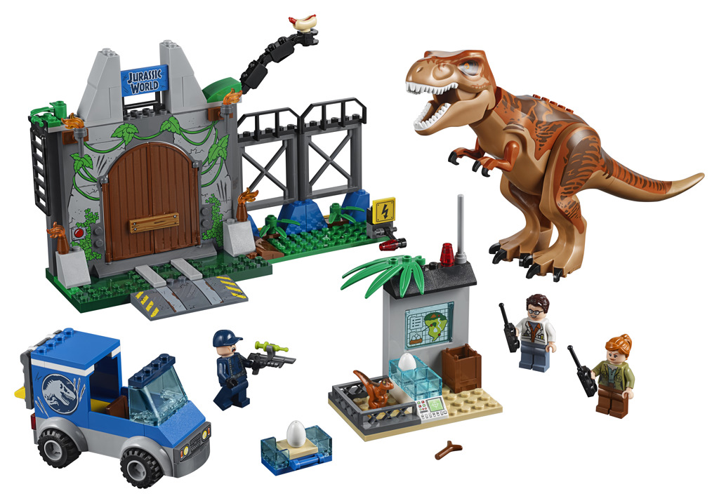 LEGO JUNIORS  Jurassic World - Útěk T. rexe