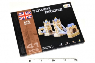 3D PUZZLE - TOWER BRIDGE