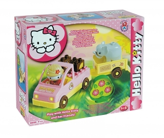 Stavebnice UNICO - Hello kitty safari