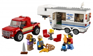 LEGO CITY  Pick - Up karavan